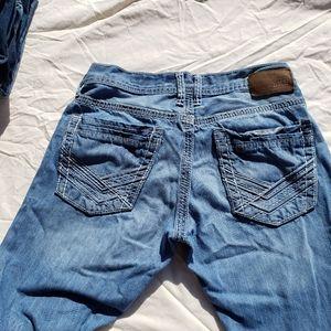 BKE Carter Straight Leg Jean
